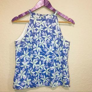 Vintage Lilly Pulitzer high neck tank A89